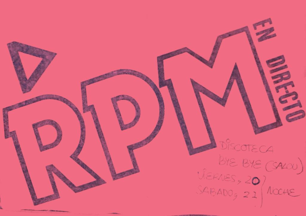 Rpm – Discoteca Bye Bye de Salou