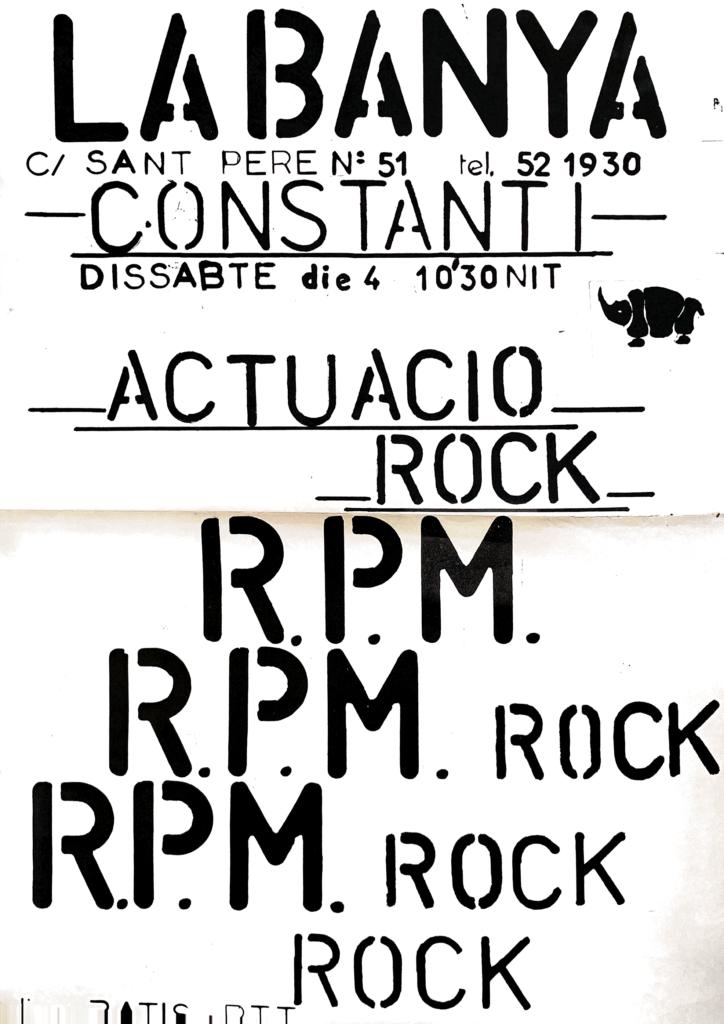 Rpm – La Banya de Constanti