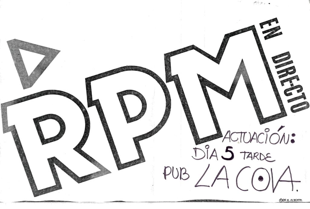 Rpm – La Cova