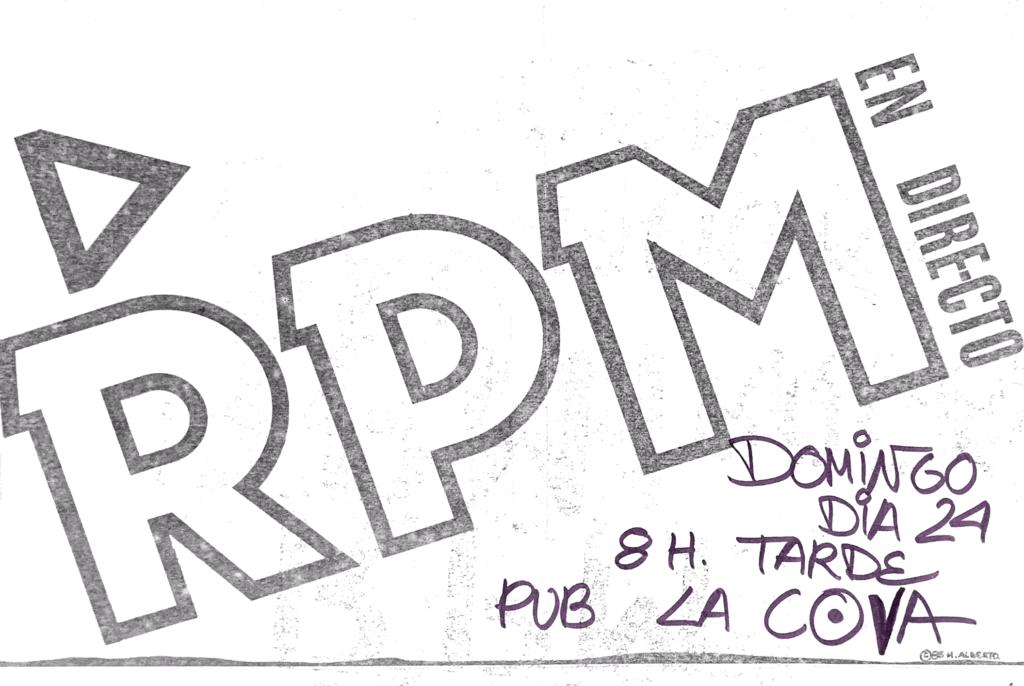 Rpm – La Cova Tarragona