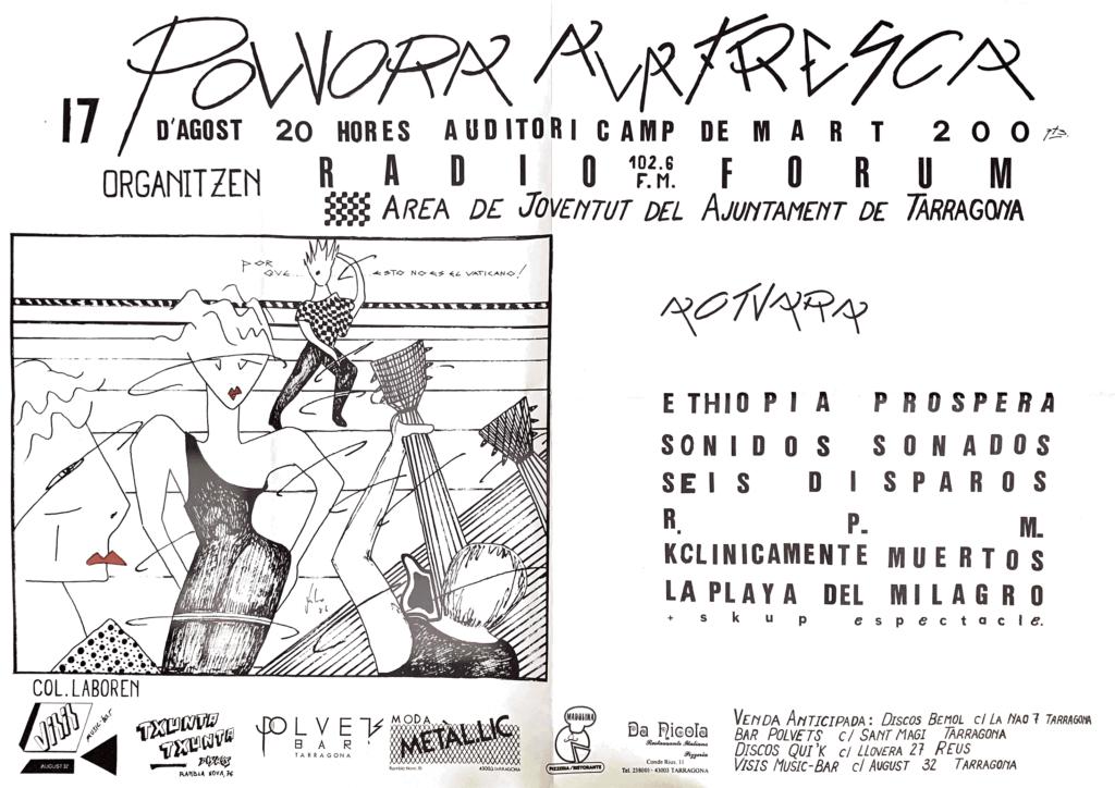 Rpm – Pólvora a la fresca – Camp de Mart – Tarragona