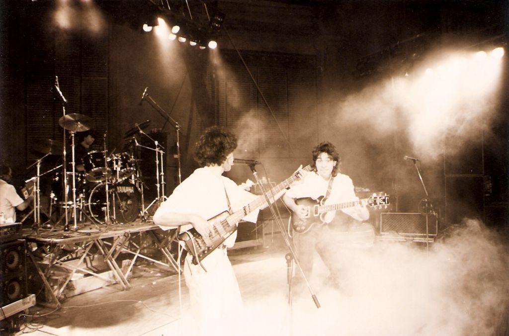 No lo sé! - Mostra de musics TGN 1990, con Hector a la batería